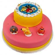 3D Angry Birds Taart bezorgen in Leiden