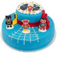 3D Superheroes Taart bezorgen in Den haag