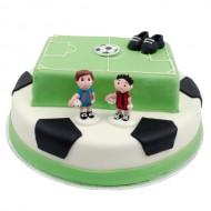 3D Voetbal Taart bezorgen in Den Haag