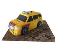 Ambulance 3D taart bezorgen in Den Haag