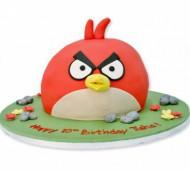 Angry Birdstaart bezorgen in Leiden
