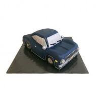 Auto 3D taart bezorgen in Leiden