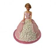 Barbie 3d Taart bezorgen in Den Haag