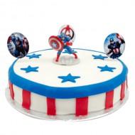 Captain America Marsepeintaart bezorgen in Den haag