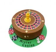 Casino 3D taart bezorgen in Leiden