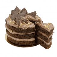 Chocolate Salted Layer Cake bezorgen in Den-Haag