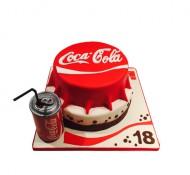 Coca Cola 3D taart bezorgen in Leiden