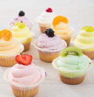 Cupcake fruitassortiment bezorgen in Leiden
