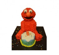 Elmo 3D taart bezorgen in Leiden