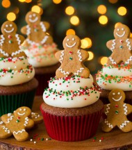 Gingerbread Cupcakes bezorgen in Amsterdam