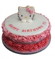 Hello Kitty 3D taart bezorgen in Leiden