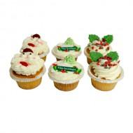 Kerst Cupcakes bezorgen in Leiden