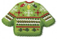 Kerst Trui Taart Groen bezorgen in Den Haag