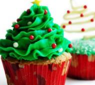 Kerstboomcupcakes bezorgen in Den Haag