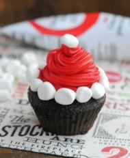 Kerstman cupcakes bezorgen in Den Haag