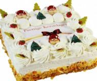Kerstslagroomtaart Vierkant bezorgen in Den Haag