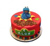 Koekiemonster 3D taart bezorgen in Den haag