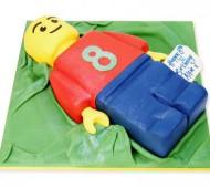 Lego man taart bezorgen in Leiden