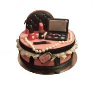Make-up 3D taart bezorgen in Den haag