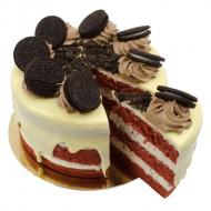 Oreo Velvet Layer Cake bezorgen in Den haag