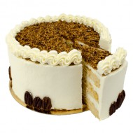 Pecan Nuts Layer Cake bezorgen in Almere