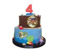 Piet Piraat 3D taart bezorgen in Den haag