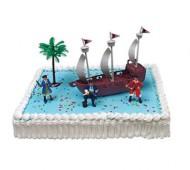 Piraten taart bezorgen in Leiden