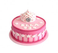 Prinses (1 laag) 3D taart bezorgen in Leiden