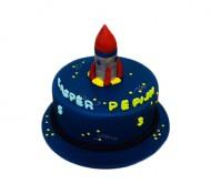 Raket 3D taart bezorgen in Den Haag