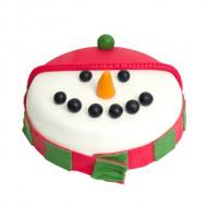 Sneeuwpop Cake bezorgen in Leiden