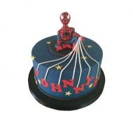 Spiderman 3D taart bezorgen in Leiden