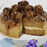 Sticky salted caramel cake bezorgen in Den Haag