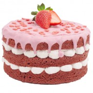 Strawberry Love Cake bezorgen in Breda