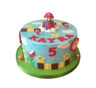 Super Mario 3D taart bezorgen in Leiden