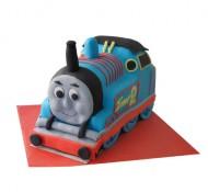 Thomas de trein (locomotief) 3D taart bezorgen in Leiden