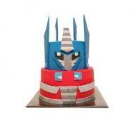 Transformers 3D taart bezorgen in Leiden