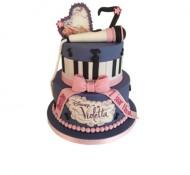 Violetta 3D taart bezorgen in Den Haag