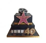 Walk of Fame 3D taart bezorgen in Den haag
