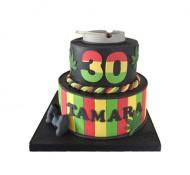 Wiet 3D taart bezorgen in Den haag